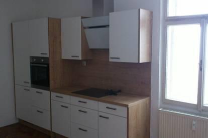Geräumige, sehr gut aufgeteilte 2-Zi-Wohnung mit möblierter Küche in zentraler Lage in Ried