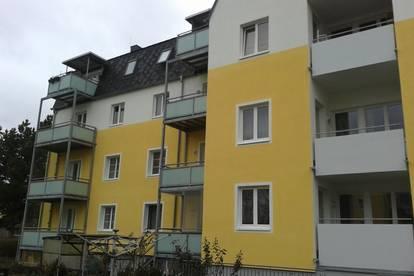 Gut aufgeteilte, ruhige 2-Zimmer Wohnung mit Balkon in Stadtrandlage Ried