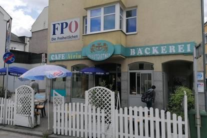 Café/Geschäftslokal in bestens frequentierter Lage in Ried