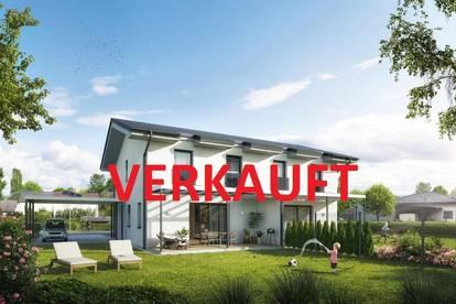 Tolle schlüsselfertige Doppelhaushälfte vor der Toren von Wels - nur noch eine Hälfte verfügbar!