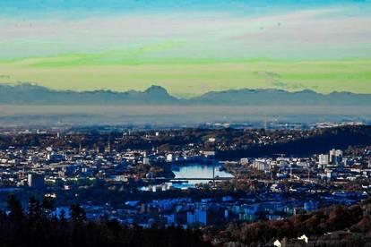 Wohnen in Aussichtslage - 65 km zum Traunstein
