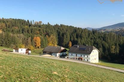 Rarität! !! Saniertes Bauernhaus mit zweiten Wohneinheit auf großem Grund im Oberen Mühlviertel, u.v.m.
