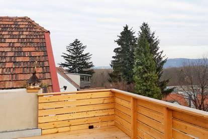 Extravagante 2 Zimmerwohnung mit 45m² großer Terrasse