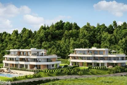 Traumhafte Seeblickwohnungen ab 58 m² bis 180 m² , Infinity-Pool, TG - Baubeginn Herbst 2021
