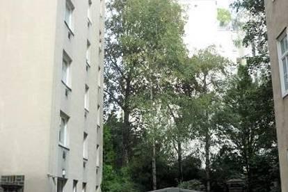 Josefstädter Straße , Hofgrünruhelage nächst U6, zentrumsnahe 25m² ältere Neubaumiete, 1. Liftstock