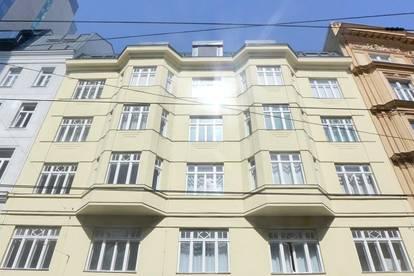 3-Zimmer DG-Wohnung im Stilaltbau mit Freifläche - Taborstraße/ Schwedenplatz