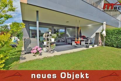 Neuwertige Garten-Wohnung, modern & barrierefrei