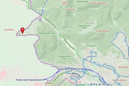 ++Siedlerverein Augustinerwald - 1088m² Grundstück Bauklasse l mit angrenzenden 3307m² Waldgrund zu verkaufen ++