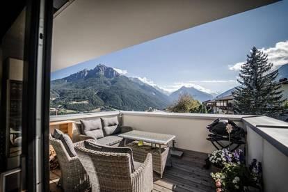 Traumwohnung mit Aussicht bis zum Stubaier Gletscher - 2 Zimmer