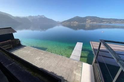 Attersee Haus mit direktem Seezugang - LETZTES Haus am Wasser das verkauft wird