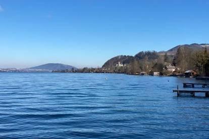 Grundstück am Attersee mit Altbestand und direktem Seezugang