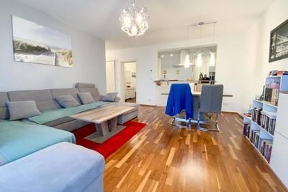 Neuwertige Wohnung in Ruhelage inkl. Tiefgaragenstellplatz & Balkon