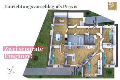 Gemeinschaftspraxis - 5,5 Zimmer - You Will Like It!