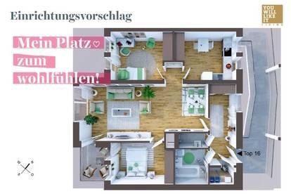 Schön wohnen mit Platz. Like it!