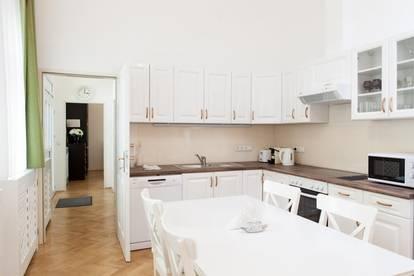 +++ PROVISIONSFREI +++ VOLL MÖBLIERT +++ 2-Zimmer-Wohnung mit Garten