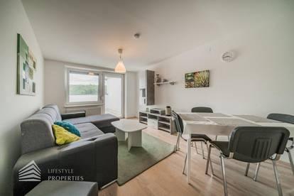 Perfekte 2-Zimmer Dachgeschosswohnung mit großer Terrasse in Bahnhofsnähe