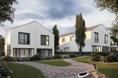 NEU! Moderne 4-Zimmer Doppelhaushälfte mit Eigengarten, am Fuße des Bisambergs