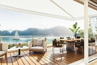 RARITÄT! 5-Zimmer Design-Villa mit privatem Seezugang