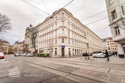 Unbefristetes 2-Zimmer Geschäftslokal inklusive Storage und Innenhof, Nähe Augarten