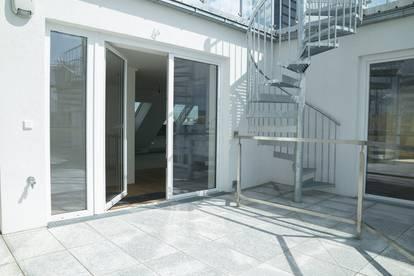+ Video | Neubau / Erstbezug | Dachgeschosswohnung im 2. Bezirk | in der Nähe von Augarten |