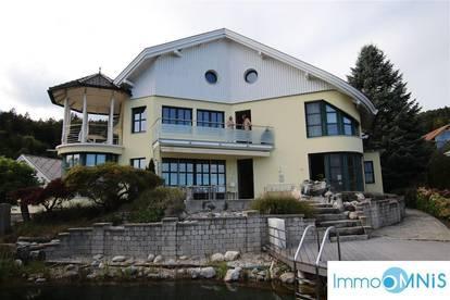 Luxuriöse Villa mit Wörthersee-Blick (mit Nebenwohnung)
