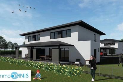 Piccoli Fiori Einfamilienhaus vom Baumeister mit Doppelgarage - schlüsselfertig