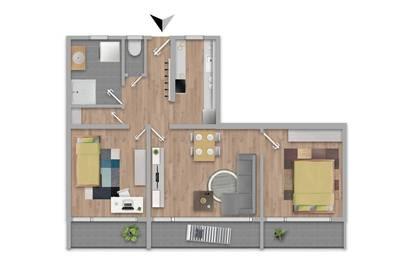 Ruhige Traum-Familienwohnung mit 3 Balkonen, 1 Keller, 1 AAP in Innsbruck