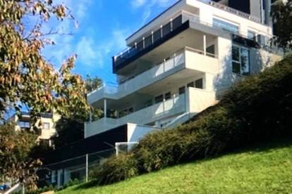 Ab 1.10. Terrassenwohnung mit zusätzlicher Empore im Freibereich, 2 Zimmer, ca. 50 m2, Mietdauer 5 Jahre