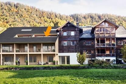4 Zi Wohnung wohnen ganz oben -2 geschossig mit Galerie