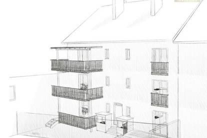 ERSTBEZUG 3-Zimmer-Wohnung mit traumhaftem Süd-Balkon, Dachgeschoss