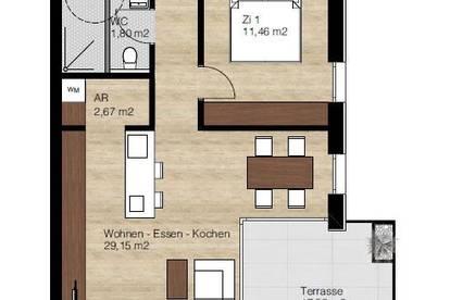 PROVISIONSFREI! 2-Zimmer Wohnung mit Balkon im Herzen von Lustenau