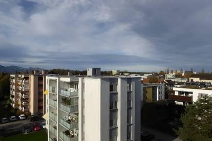 Leben im obersten Stock mit unverbaubarer Aussicht 3 Zimmerwohnung