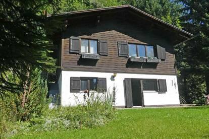 Ferienhaus mit Zweitwohnsitzwidmung im Montafon