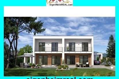 Neubauprojekt Doppelhaushälfte mit viel Eigengrund