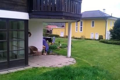 """Mondsee: """"Lebe lieber außergewöhnlich"""" 2 Zimmer Wohnung mit Garten in sonniger Ruhelage"""