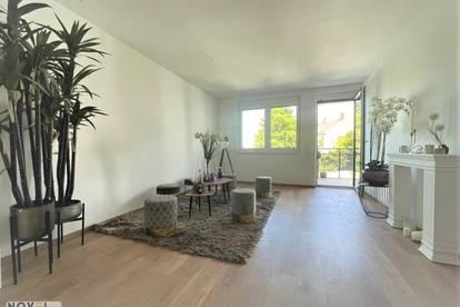 Top moderne 2 Zimmer Neubauwohnung mit Balkon und schönen Blick!