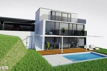 High-end Villa an grüner Grenze zum 19. Bezirk - Projektiert und baugenehmigt!