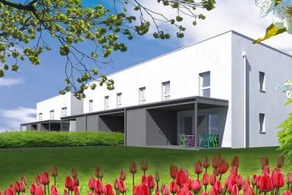 Reihenhaus im Bau in Deutschkreutz