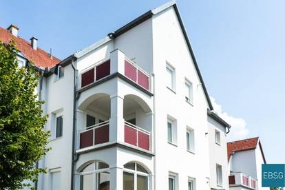 Geräumige Dachgeschoßwohnung mit Loggia