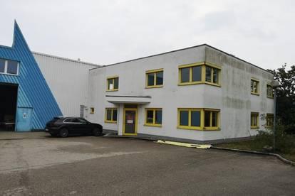 Lager, Produktions- und Büroflächen in Leonding zu mieten. Ideales Objekt für Industrie und Gewerbetreibende