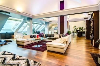 Alleinvermittlungsbeauftragt: Riesiges Penthouse im Zentrum von Wien
