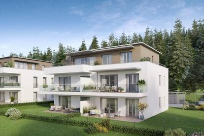 Lifestyle-Penthouse mit Seeblick! PANORAMAPERLE in Reifnitz am Wörthersee! BAUSTUFE II