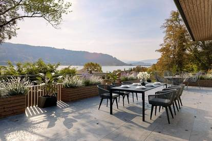 Ossiacher See DELUXE! Lifestyle-Penthouse mit sehenswertem Seeblick