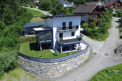 Einfamilienhaus mit Einliegerwohnung und Traumausblick in Feldkirchen