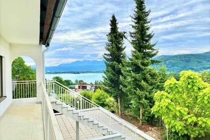 Großzügige Terrassenwohnung mit wunderschönem Seeblick