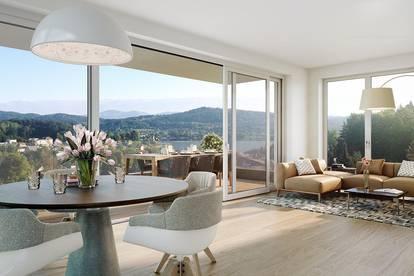 Lifestyle-Penthouse mit schönem Seeblick zum Wörthersee