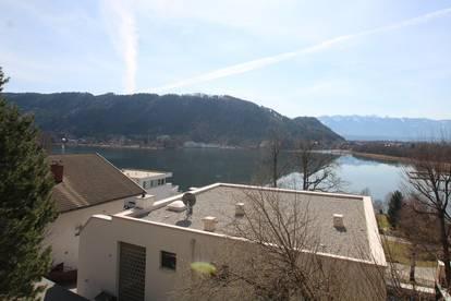 Seeblick! Helle 89m² Wohnung  mit Blick auf den Ossiacher See