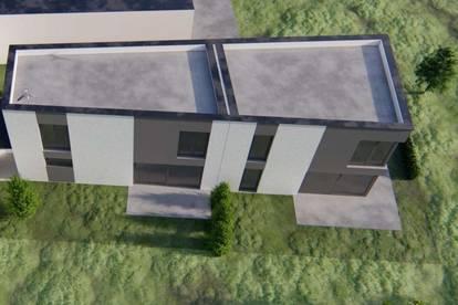 Projekt - Neu errichte Gartenwohnung mit 2 Geschoßen!