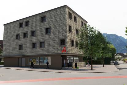 OSWALDhoch3 - 2-Zimmer-Terrassenwohnung, Top 1 - Leben Mitten in Dornbirn
