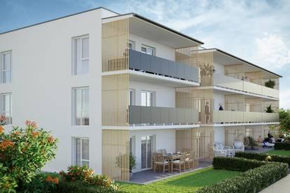 NEUBAU(T)RAUM - 2-Zimmer - Terrasse und Garten - Wohnpark Primelweg
